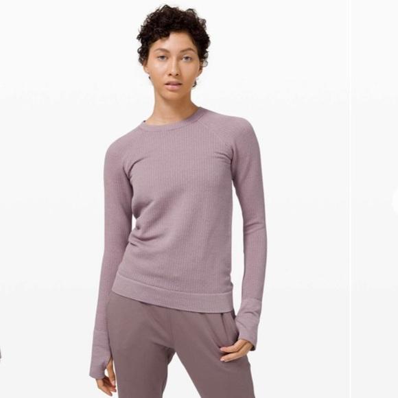 lululemon Rest Less Pullover (NWT)
